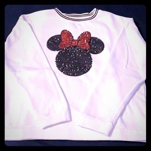 NWOT Minnie Mouse Sweater